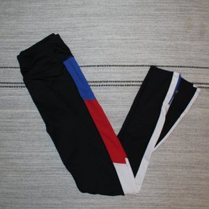 Athletic Workout Leggings With Side Accents